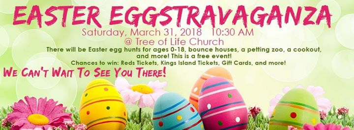 Easter eggstravaganza 2018 tree of life church easter eggstravaganza 2018 negle Images